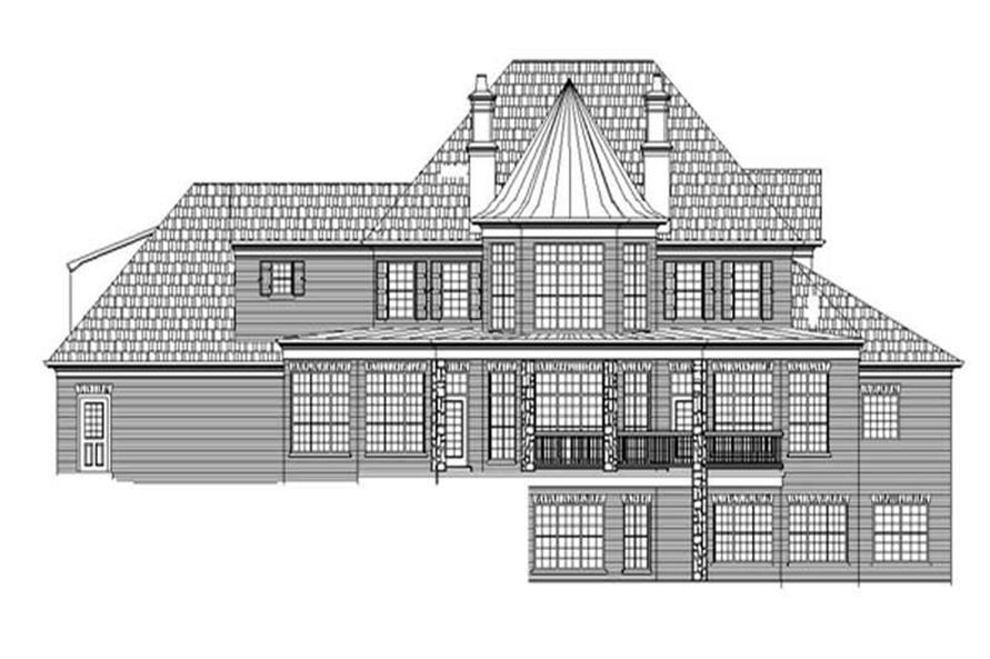 House Plan #106-1053