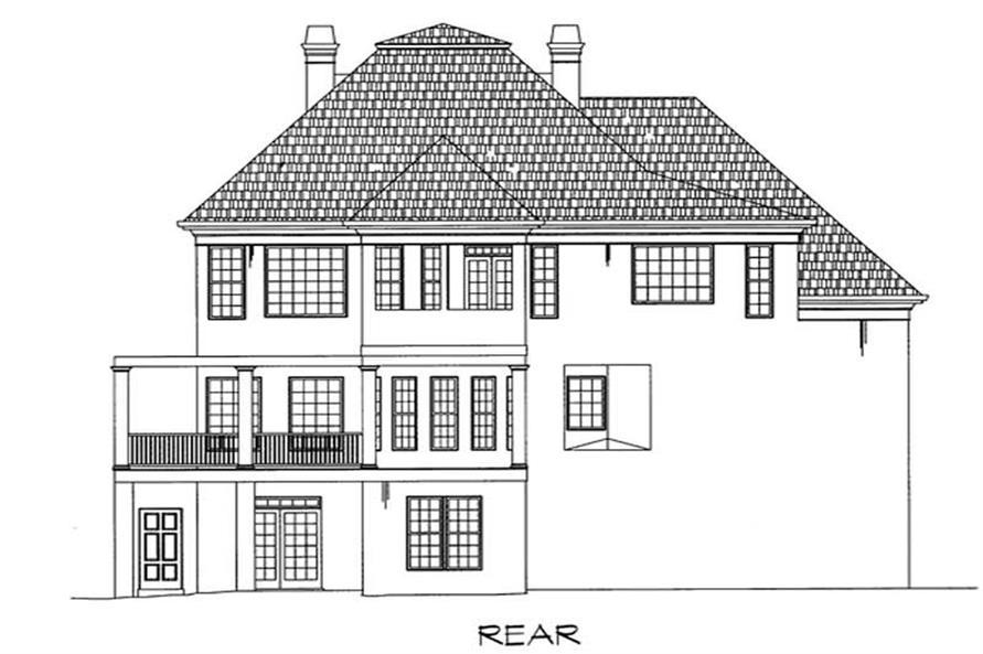 House Plan #106-1058