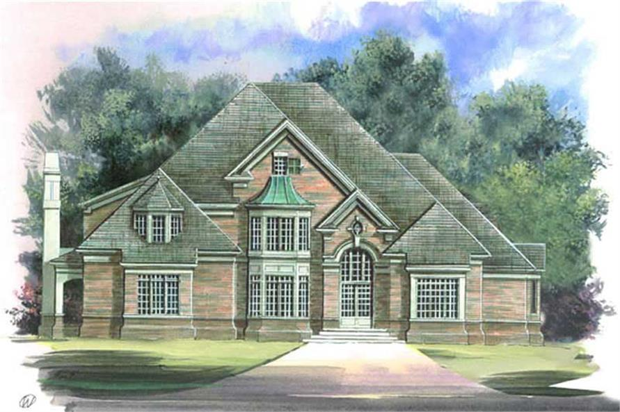 Main image for house plan # 16061