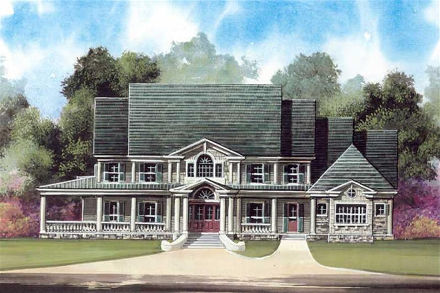 Main image for house plan # 16140