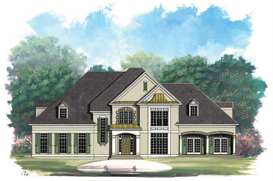 Main image for house plan # 16062