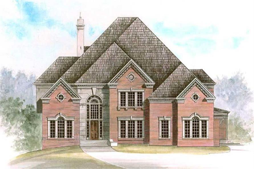Main image for house plan # 16124