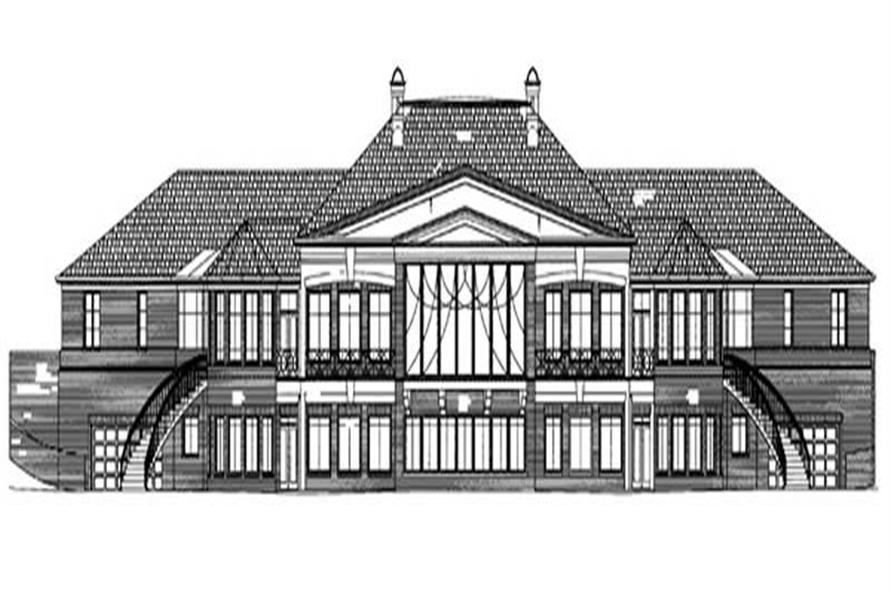 House Plan #106-1084