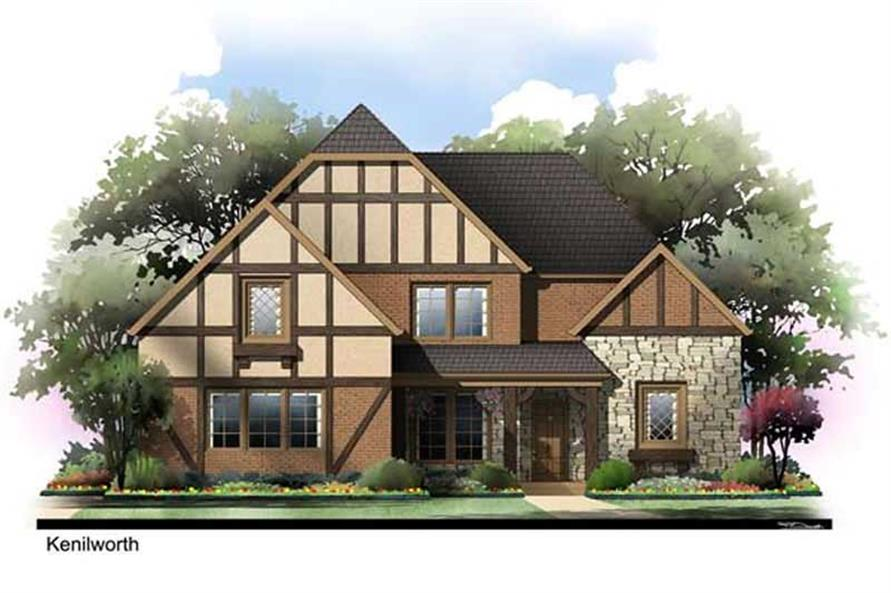 Main image for house plan # 17688