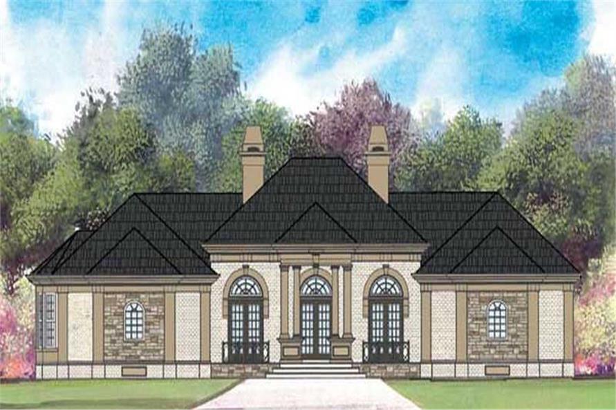 Main image for european house plans # 17678