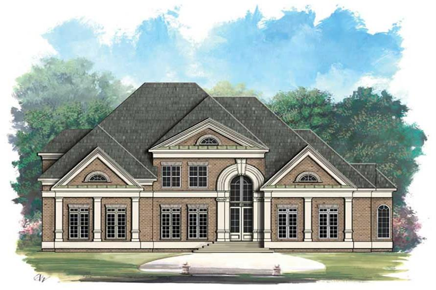 Main image for house plan # 16125