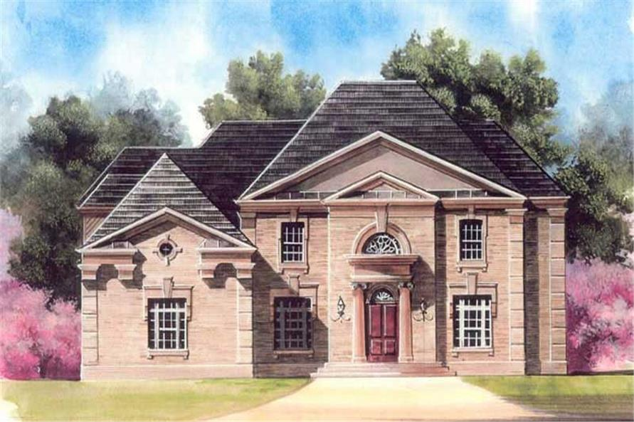 Main image for house plan # 16078
