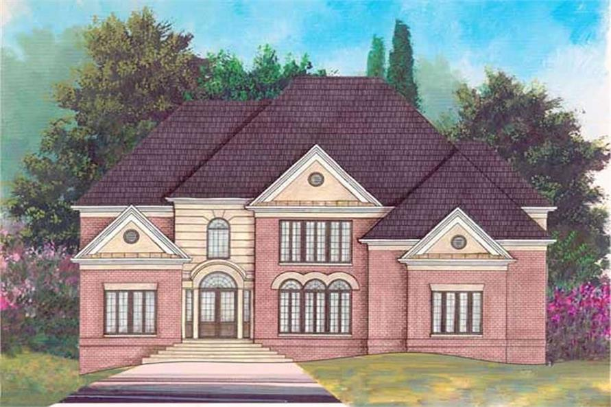 Main image for house plan # 16051