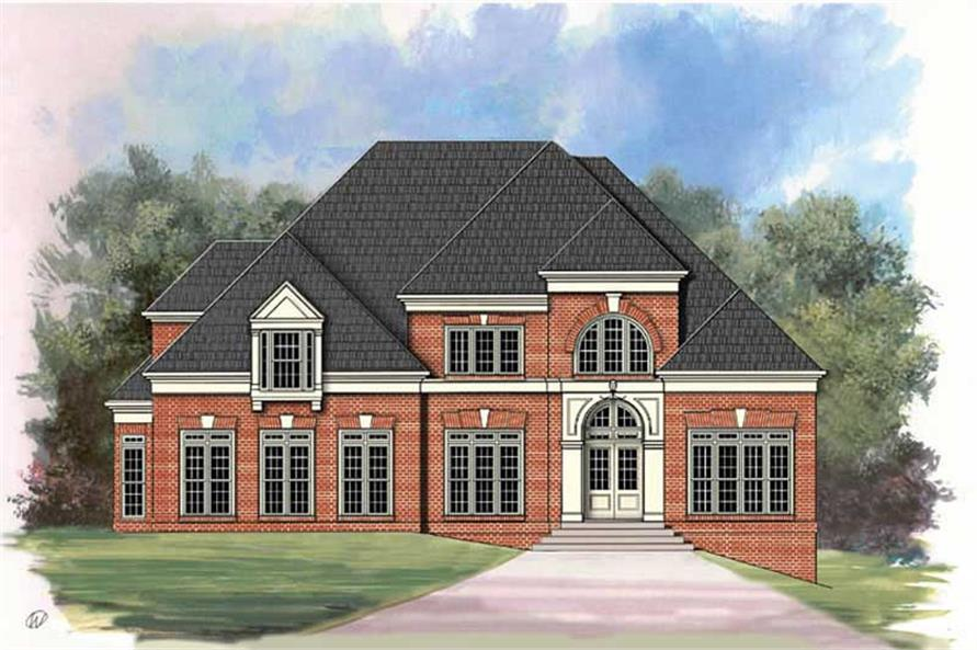Main image for house plan # 16019