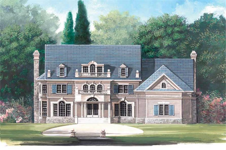 Main image for house plan # 16014
