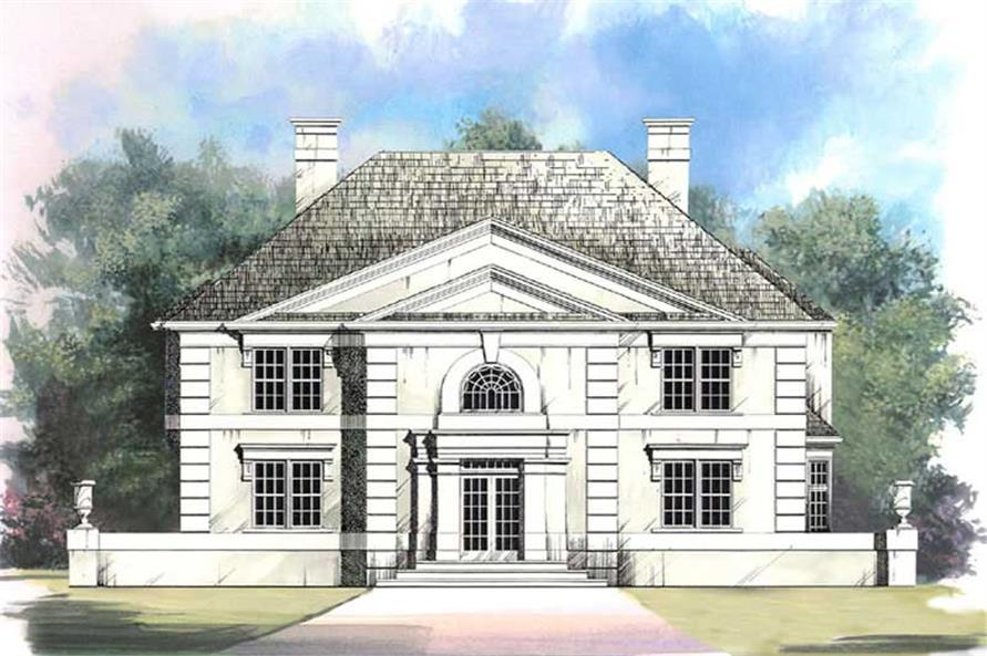 Main image for house plan # 15878