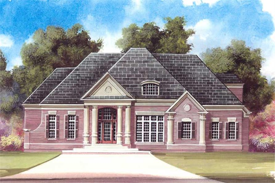 Main image for house plan # 15864
