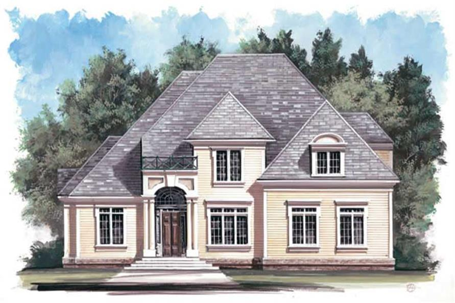 Main image for house plan # 15862