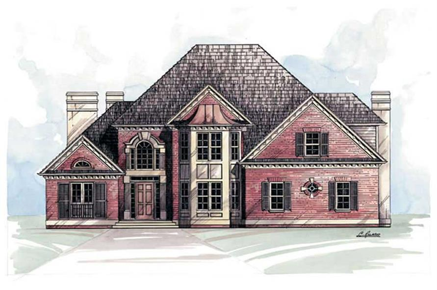 Main image for house plan # 15850