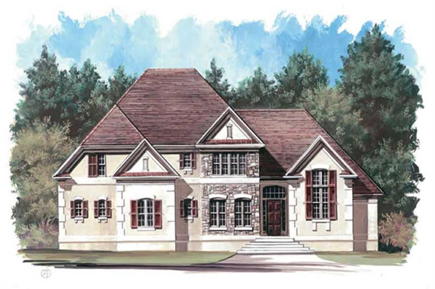 Main image for house plan # 15841