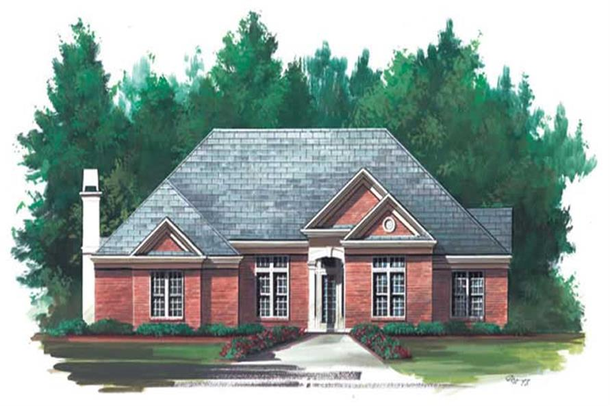 Main image for house plan # 15840
