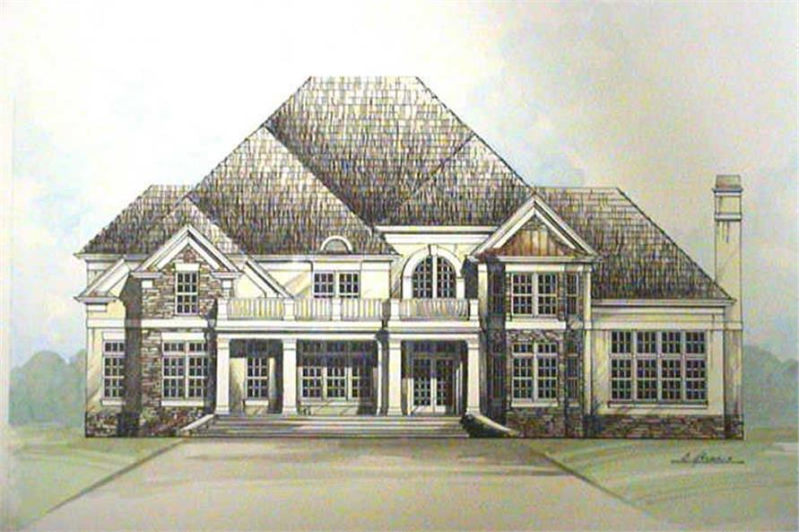 Main image for house plan # 15962