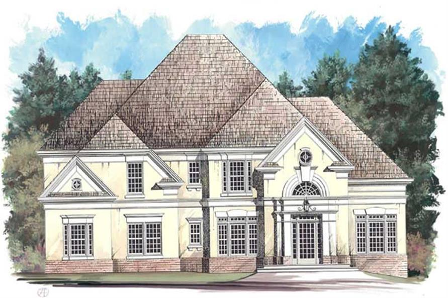 Main image for house plan # 15861