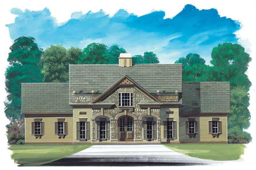 Main image for house plan # 15912