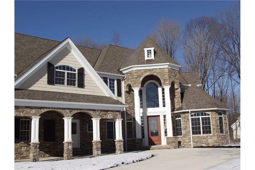 106-1138: Home Exterior Photograph-Front Door