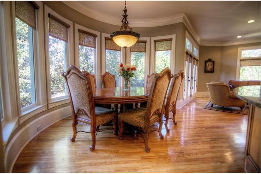 106-1167: Home Interior Photograph-Kitchen: Breakfast Nook