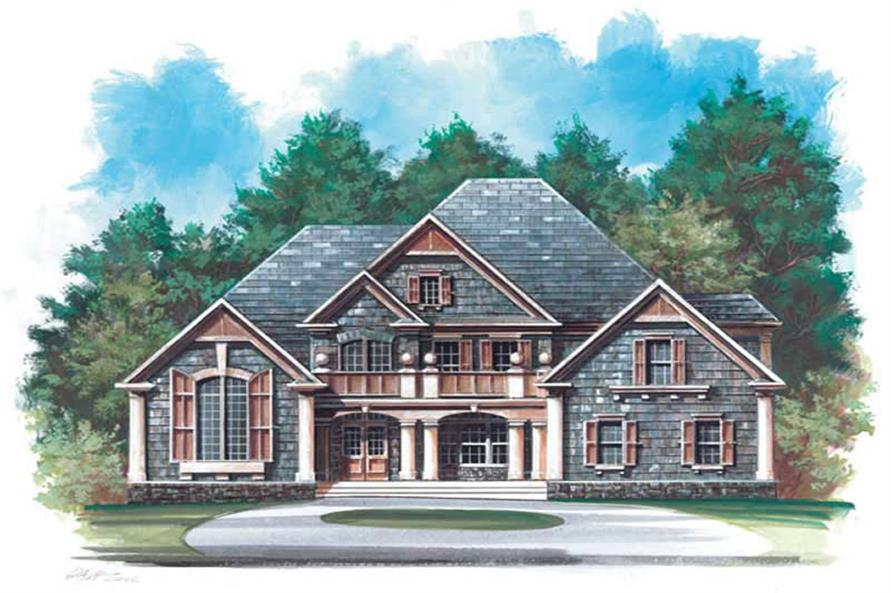 Main image for house plan # 14295