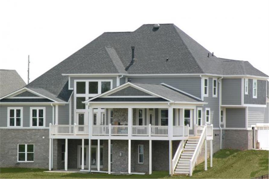 106-1175: Home Exterior Photograph-Rear View