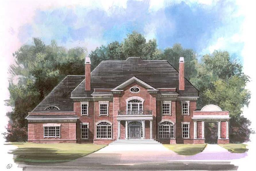 Luxury Plans color rendering for Ashlott.