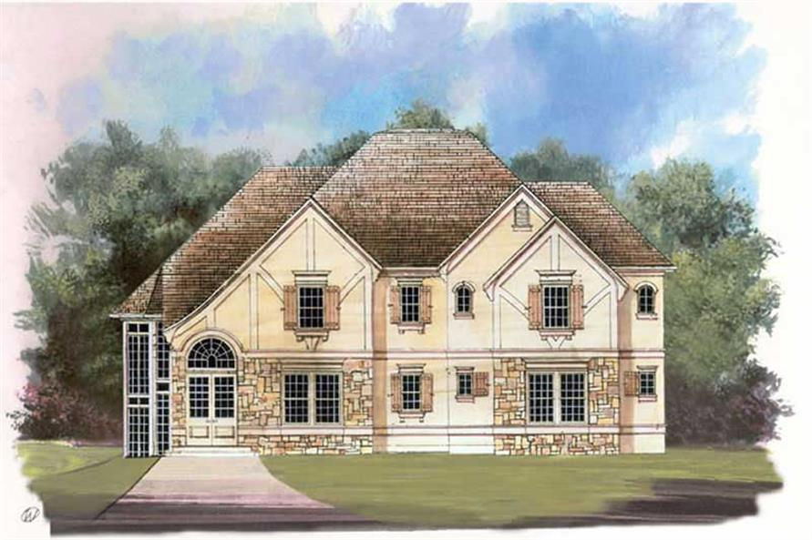Main image for house plan # 15866