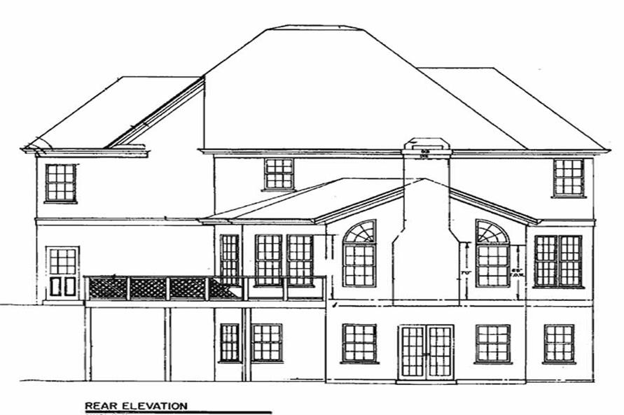 House Plan #106-1203