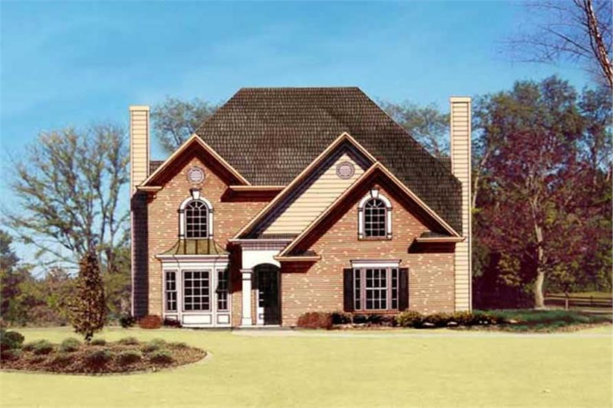 Main image for house plan # 15815