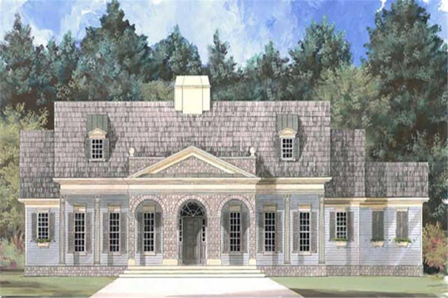 Main image for house plan # 15820