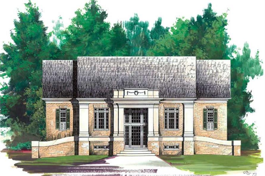 Main image for house plan # 15821