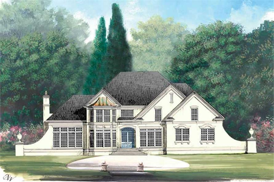 Main image for house plan # 15842