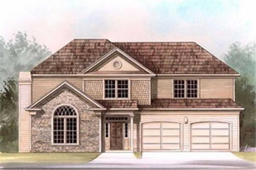 Main image for house plan # 15805