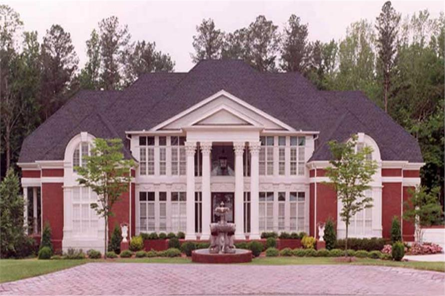 Main image for house plan # 14323