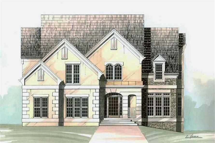 Main image for house plan # 15883