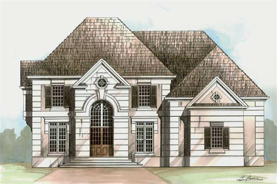 Main image for house plan # 15985