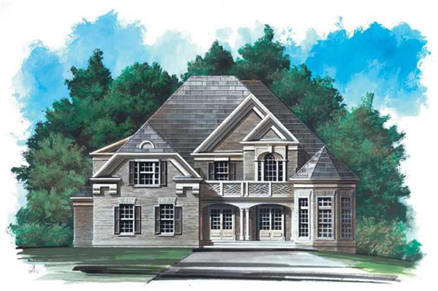Main image for house plan # 15959