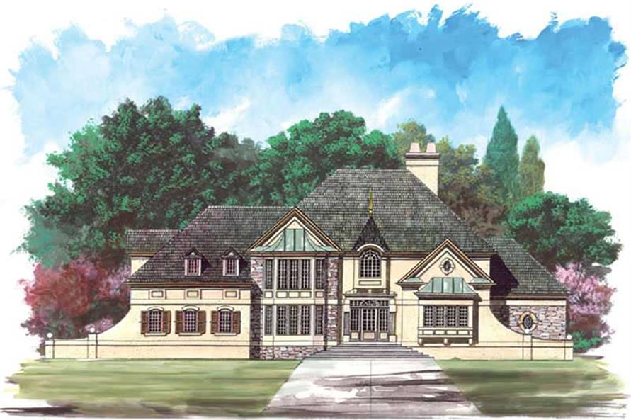 Main image for house plan # 15961