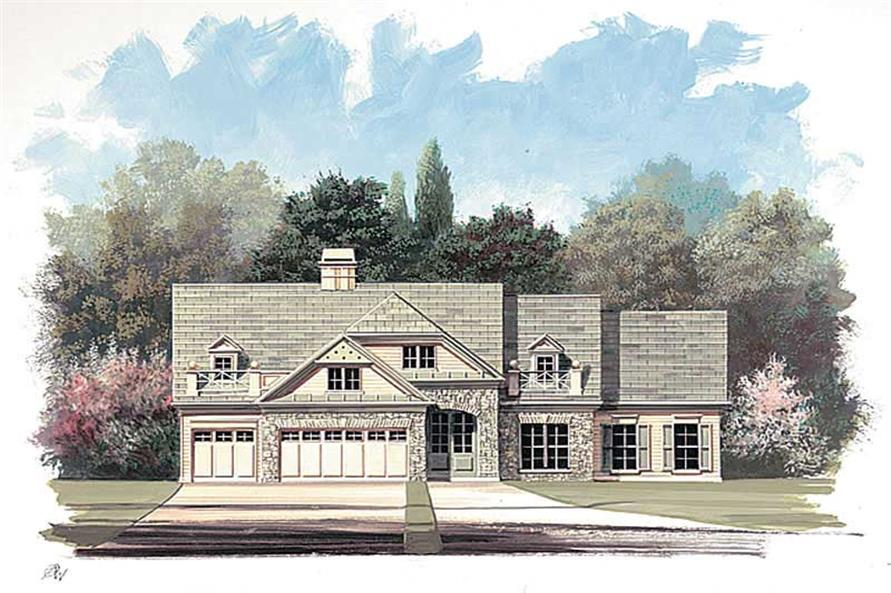 Main image for house plan # 15898