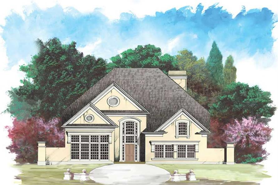 Main image for house plan # 15886