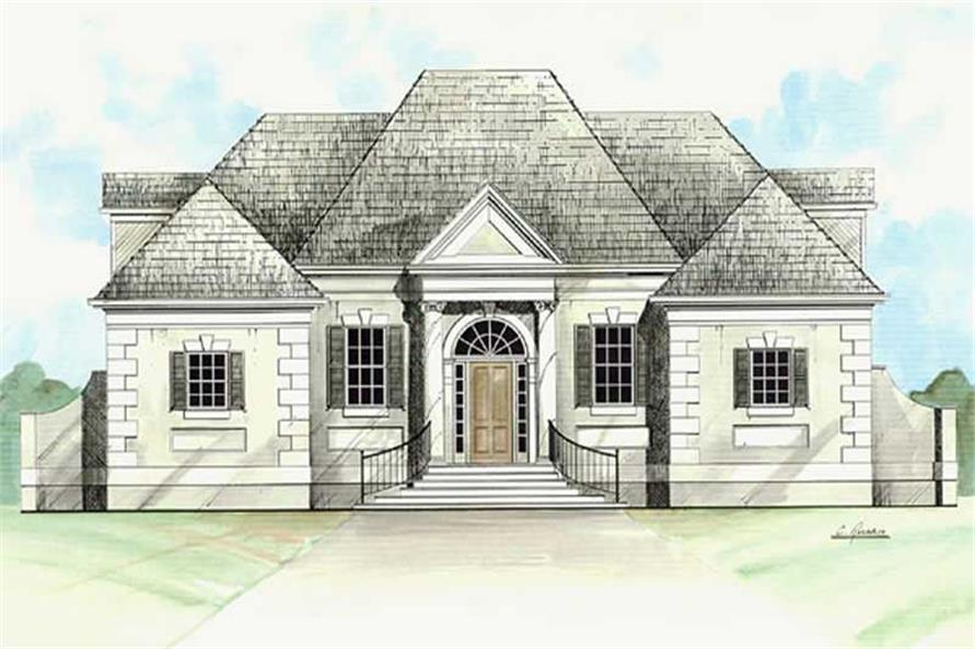 Main image for house plan # 15882