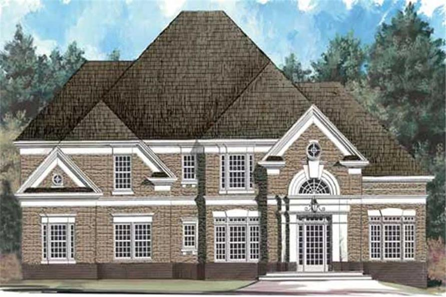 Main image for house plan # 17684