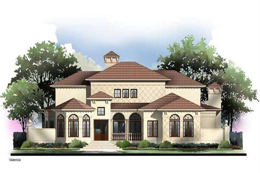 Main image for house plan # 17690