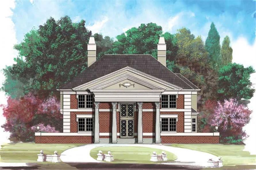 Main image for house plan # 15884