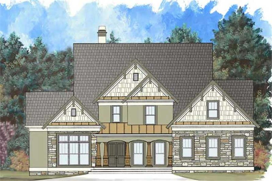 Main image for house plan # 17686
