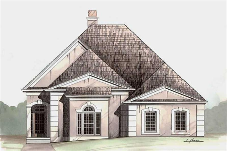 Main image for house plan # 15839