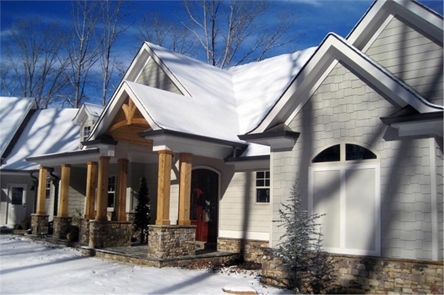 106-1274: Home Exterior Photograph-Front Door