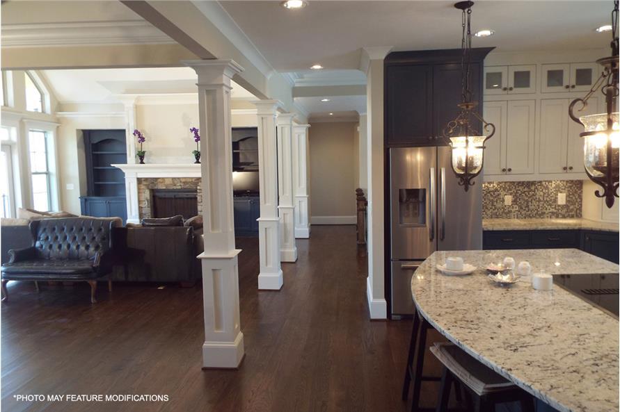 106-1274: Home Interior Photograph-Living Room